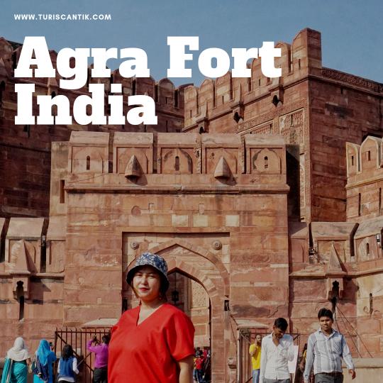 Benteng agra fort di india