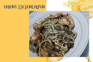 Omoni-Jjajangmyeon-Chicken-yang-sudah-dimasak