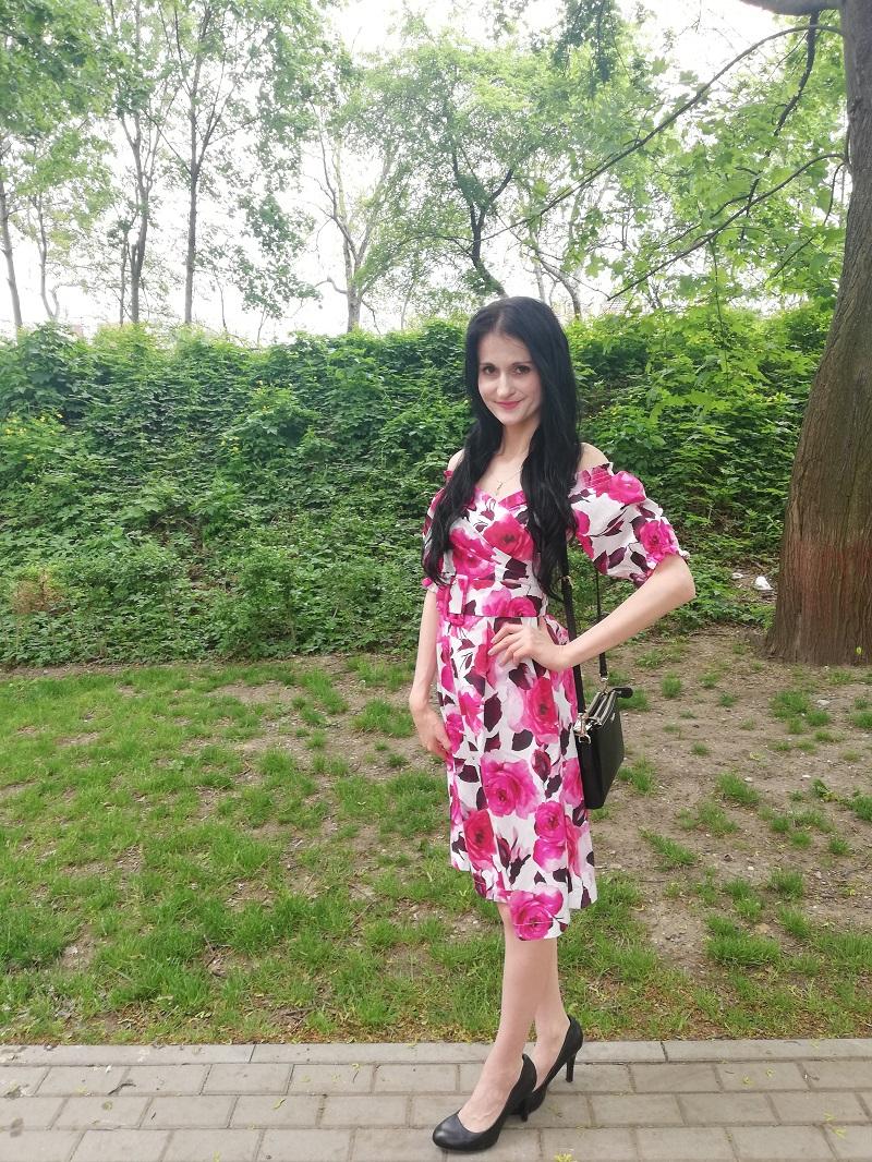 Orsay sukienka typu hiszpanka
