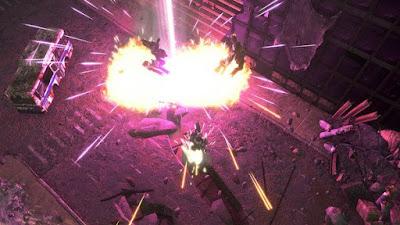صورة  لتجربة العبة Livelock المحارب الداكي و المقاتلون الخمسة في جهاز الحاسوب