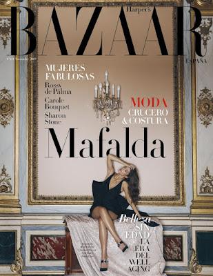 Regalo Revista Elle noviembre 2019 harper's Bazaar