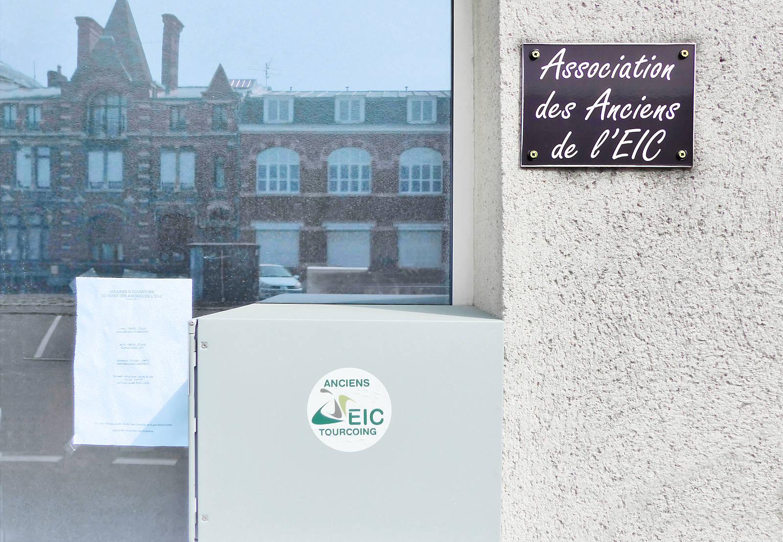 Tourcoing, Place du Théâtre - Association des anciens de l'EIC.