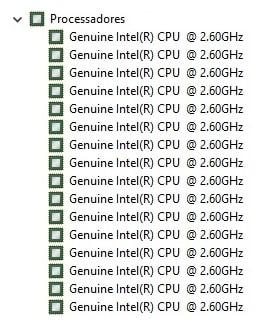 Referências de Consumo para Servidores Xeon® E5-2670 (8-Core / 16-Threads)