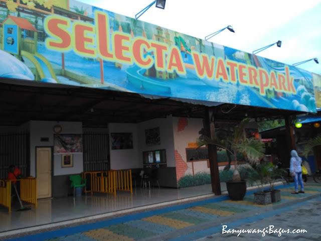Selecta Waterpark, miniatur taman wisata selecta di Banyuwangi