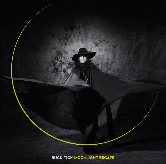 Buck-Tick Moonlight Escape single - portada de la edición regular