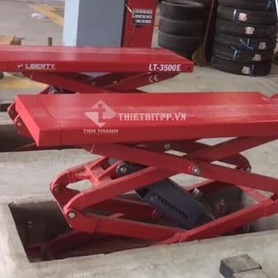 Thanh lý cầu nâng cắt kéo cũ cho tiệm sửa chữa - Giá ưu đãi lớn khi mua cầu nâng mới tại công ty