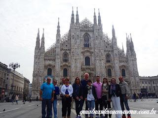 guia brasileira milao duomo milao - Guia de turismo em Milão