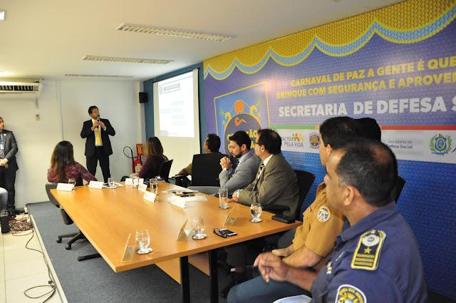 SEGURANÇA: SDS irá aumentar forças de segurança em 32% no Carnaval 2018