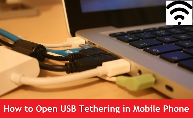 How to Connect Computer with Internet Using USB Tethering