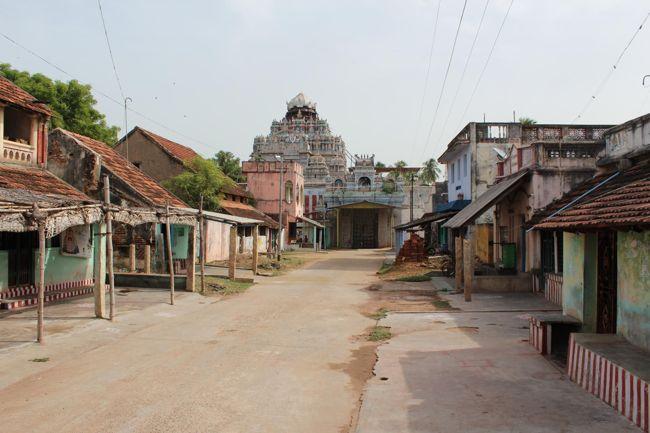 View Of Thirukoshtiyur Temple From Thirukoshtiyur Nambigal's House