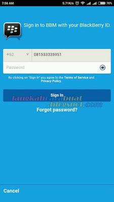 Cara Menghapus Akun BBM ID Secara Permanen