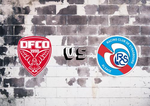 Dijon FCO vs Strasbourg  Resumen