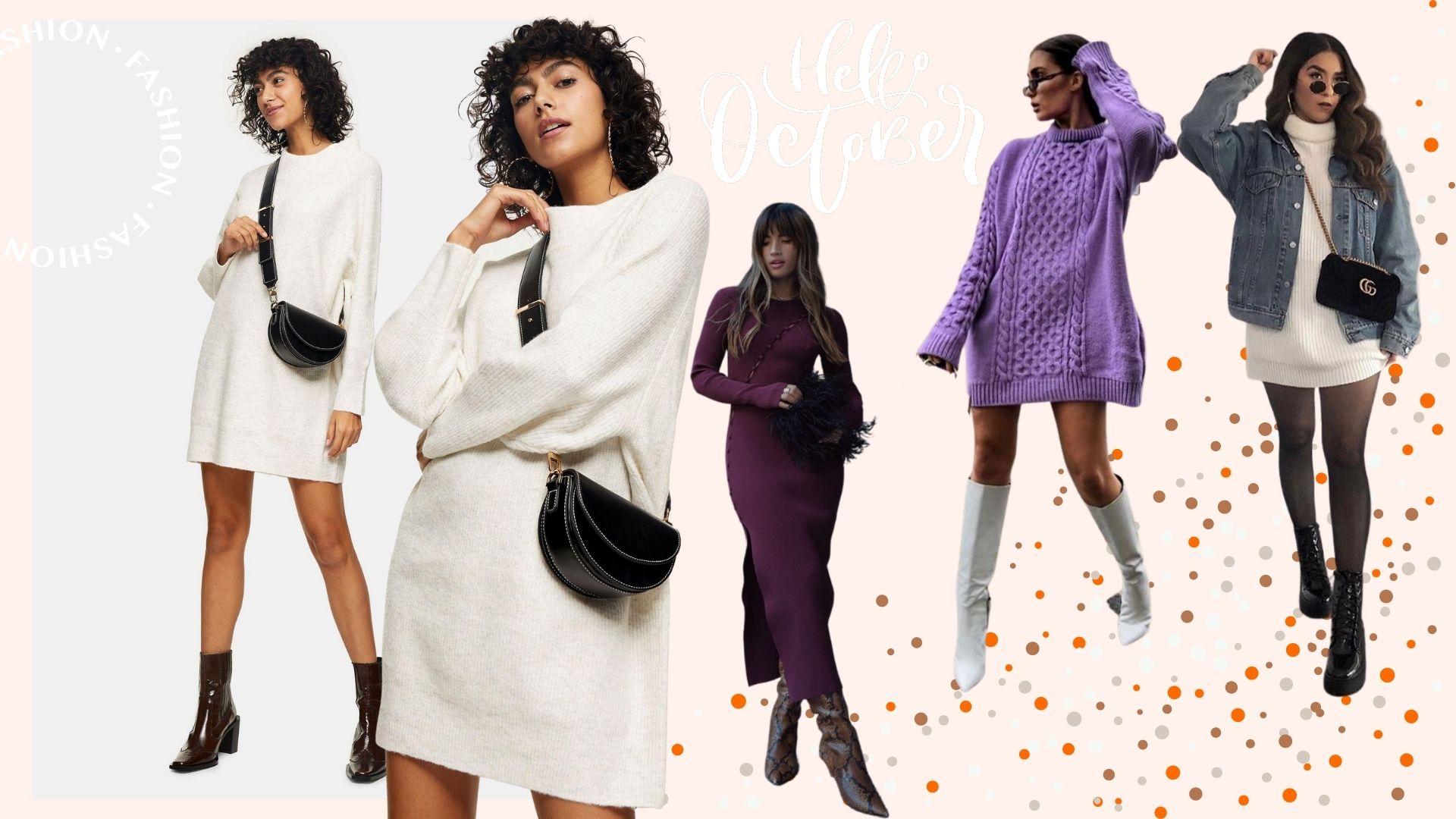 Vestidos en tendencia otoño 2020