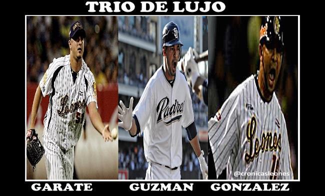 TrioDeLujo: Gonzalez Guzman y Garate presente en distinas fechas