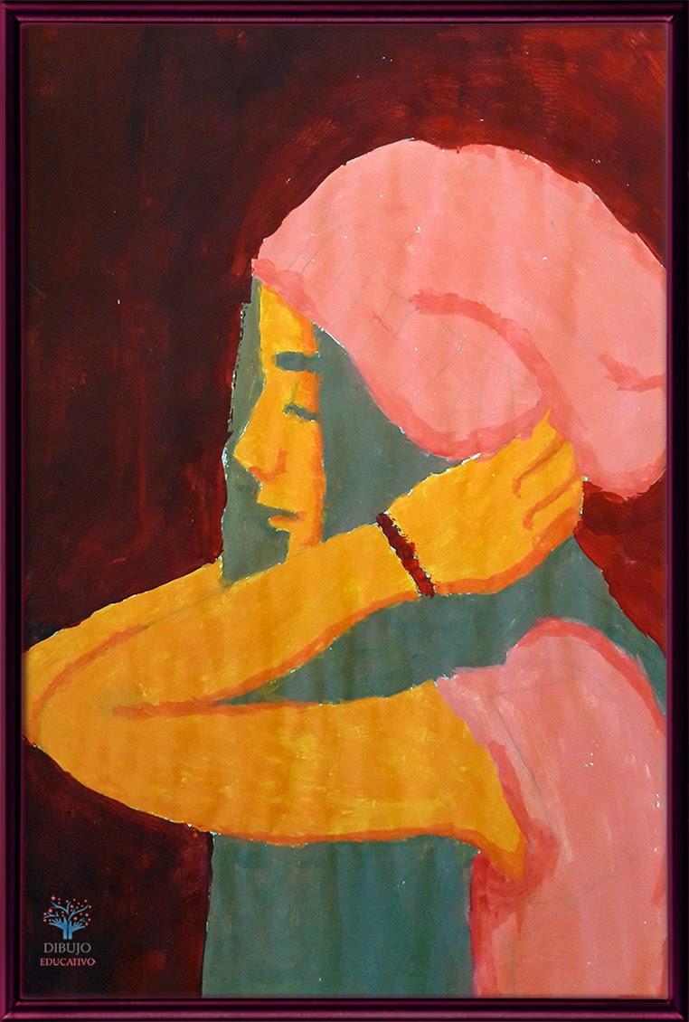 Dibujo Educativo Armonía De Colores Cálidos O Fríos Ce1617