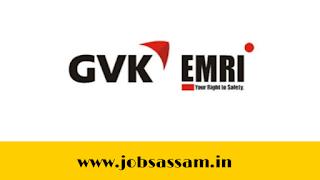 GVK EMRI Assam Recruitment 2019: ERCP Post Guwahati Jobs