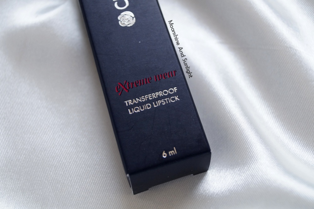 Chambor Xtreme wear Transferproof Matte lipstick in 405 Review