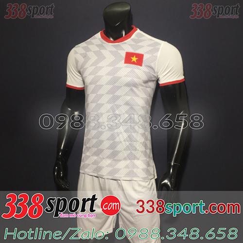 Áo bóng đá Việt Nam màu trắng