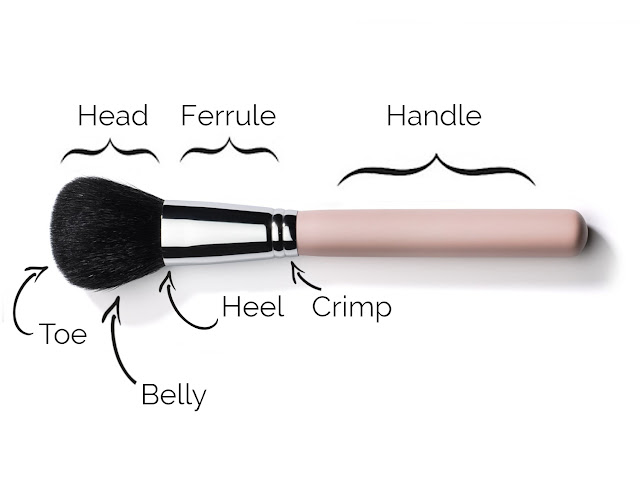 makeup theory lesson all about makeup brush how produce brush liz bregel mua professional blogger makeup artist