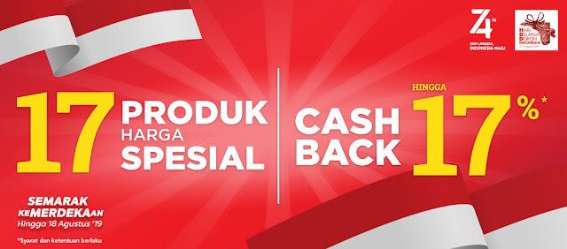 #AceHardware - #Promo Produk Harga Spesial 17 & Cashback Hingga 17% (s.d 18 Agustus 2019)