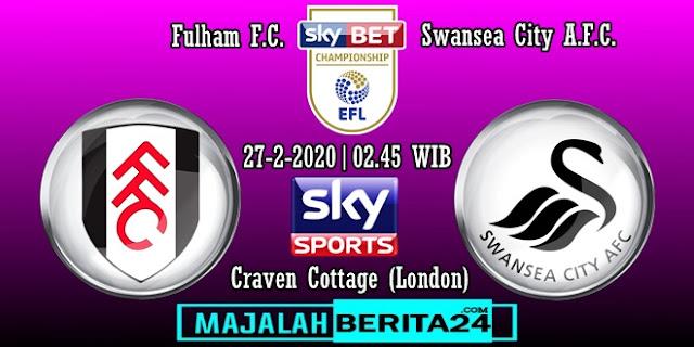 Prediksi Fulham vs Swansea City