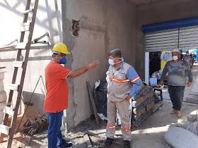 Pedreiras: Mercado Central está com suas obras avançadas.