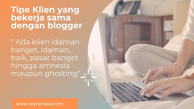 Klien dan blogger