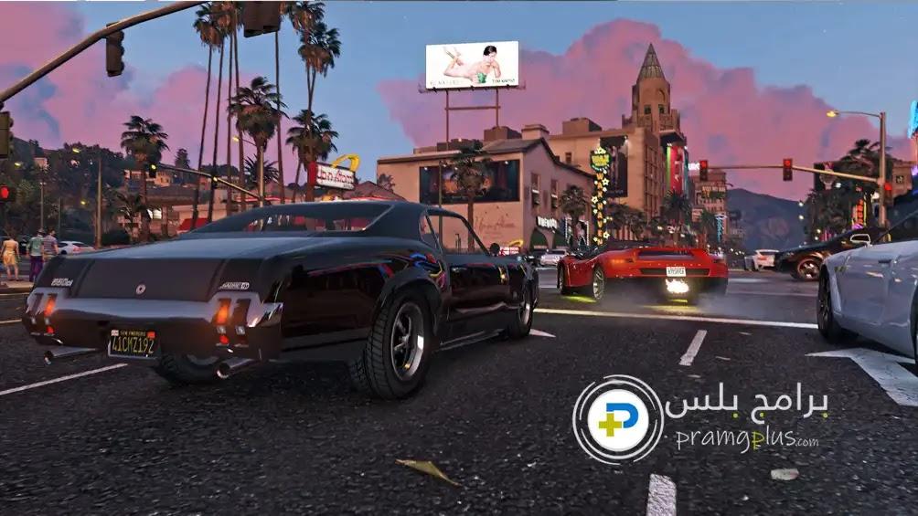 صور من داخل لعبة GTA 5 للكمبيوتر