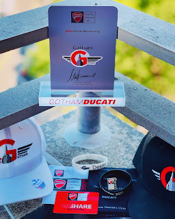 2021 Gotham Desmo Owner Club Member Packets