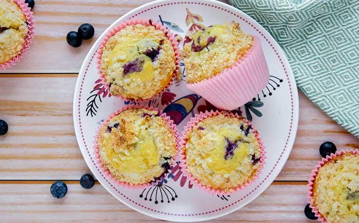 Copycat Starbucks Blueberry Muffin Recipe