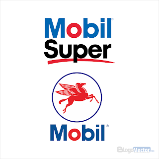 Mobil Super Logo vector (.cdr)