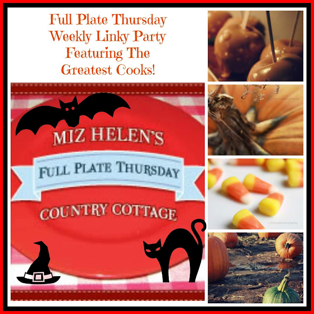 Full Plate Thursday, 403 at Miz Helen's Country Cottage