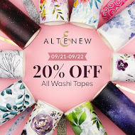Shop Altenew (20% Off Washi Tape)