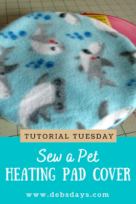 Homemade Fleece Covers for the Snuggle Safe Pet Heating Disk Sewing Project