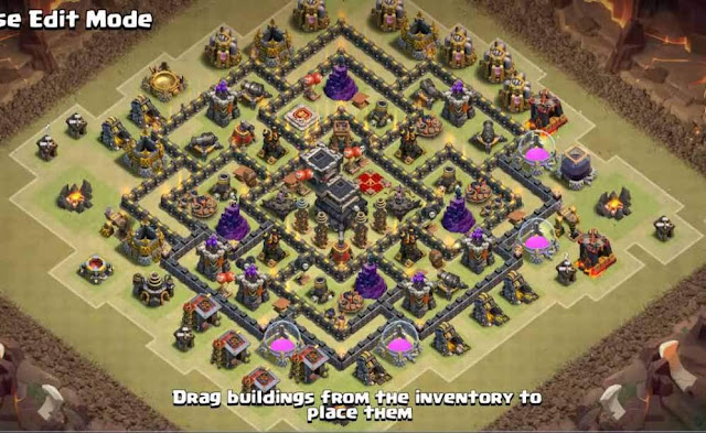 Base COC TH9 War 14