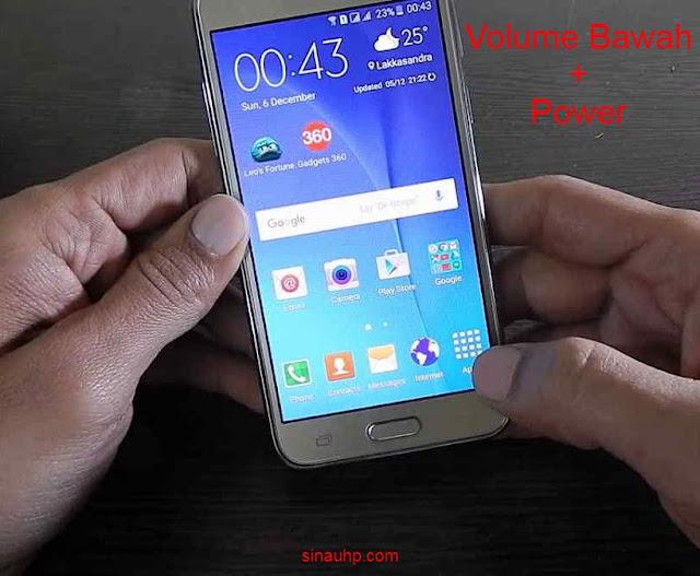 Cara Screenshot Samsung A03s