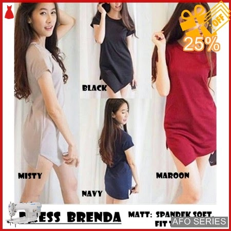 AFO743 Model Fashion Dress Brenda Modis Murah BMGShop
