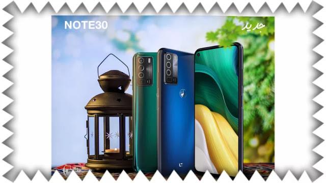 مواصفات ومميزات هاتف ال تي نوت 30