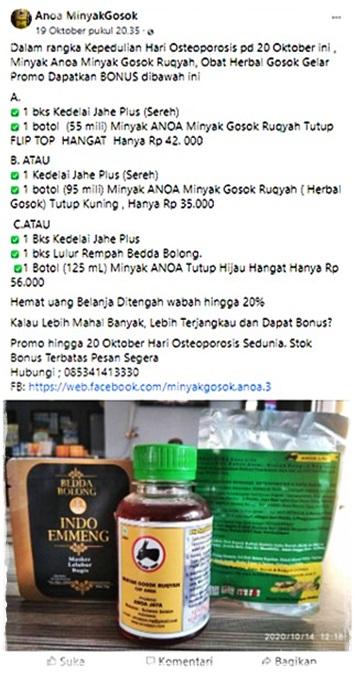 Promo Minyak Anoa