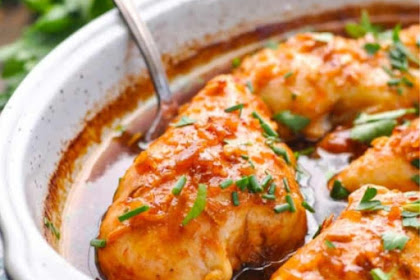 5-Minute Honey French Baked Chicken Breasts