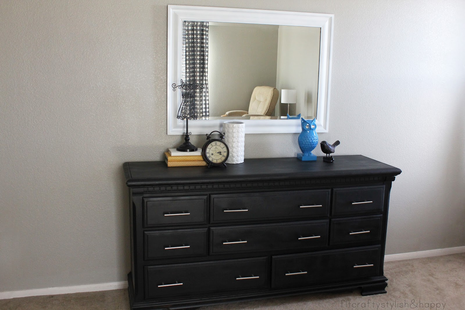 Fit Crafty Stylish And Happy Dresser Transformation