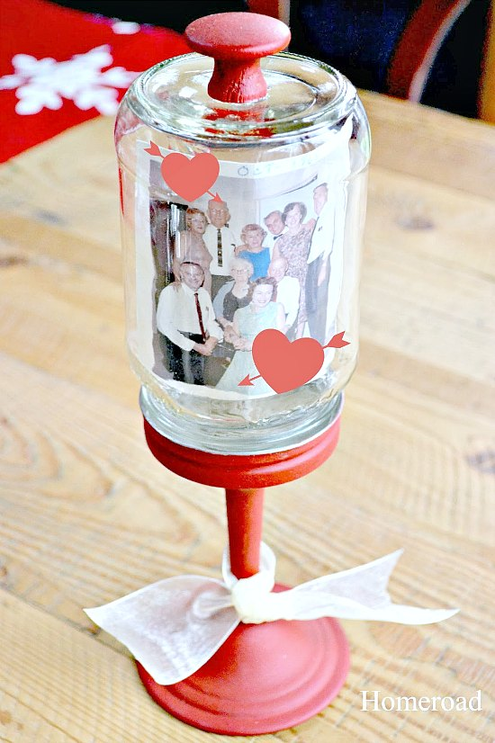 Easy Valentine Cloche to fill with a photo