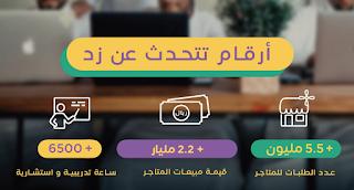 """طريقة انشاء متجر الكتروني من خلال شركة """"زد"""" Zidappcom شريكك في تجارتك الالكترونية المتكاملة"""