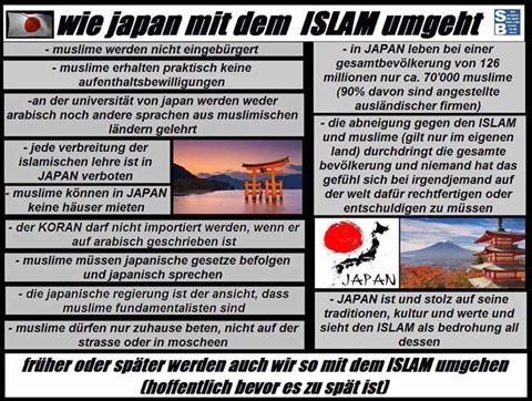 Islam Verbot Japan