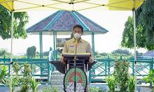 Wakil Bupati Ketapang Hadiri Program Ruang Hijau Taman Merdeka