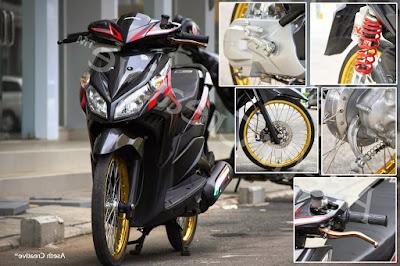 Modifikasi Motor Vario 125 Ditujukan Untuk Foto Modifikasi Honda Vario Techno Terbaru 2016 Kuncimotor Kumpulan Foto Modifikasi Motor Vario 125 Keren