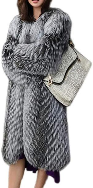 Women's Long Faux Fur Coats Jackets
