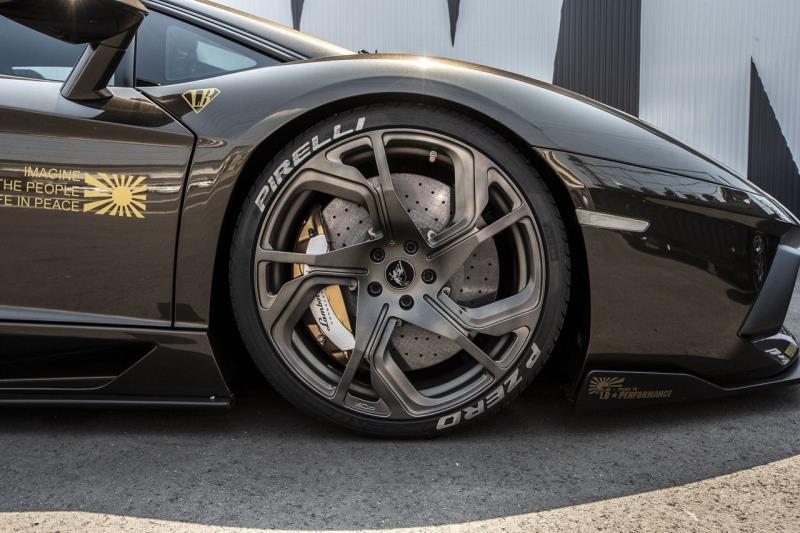 Lamborghini Aventador với gói độ Liberty Walk