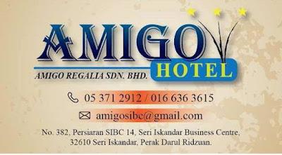HOTEL AMIGO DI SERI ISKANDAR