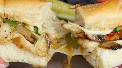 How to make chicken philly cheesesteak